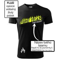 63b4073003fe ... Fire team - oheň - Váš názov - Pánske tričko Fantasy športové